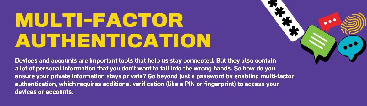 Fact sheet: Multi-factor authentication